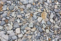 Riverside rubble rocks Royalty Free Stock Images