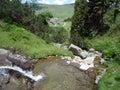 Rivulet in montagna, Bosnia Immagine Stock