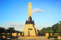 Rizal monument Stock Images