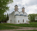 Rizopolozhensky cathedral in sacred rizopolozhenskom a monastery in suzdal vladimir region Royalty Free Stock Photo