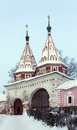 Rizopolozhensky Convent in Suzdal, Russia Royalty Free Stock Photo