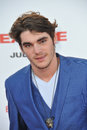Rj mitte los angeles ca july at the world premiere of sex tape at the regency village theatre westwood Stock Photo
