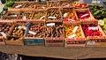 Różni rodzaje bulwy na th rynku Zdjęcie Royalty Free