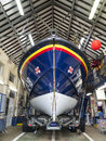 RNLI Reddingsboot - Scarborough - Engeland Royalty-vrije Stock Afbeeldingen