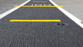 Road airstrip background Royalty Free Stock Photo