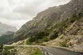 Road in Alps Royalty Free Stock Photo