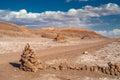 Road in Atacama Desert Royalty Free Stock Photo
