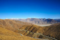 Road beautiful landscape in tibet china Royalty Free Stock Photography