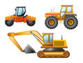 The road building technics Royalty Free Stock Photo