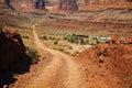 Road through Canyonland National Park