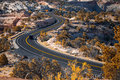 Road in Canyonlands National Park, Utah, USA