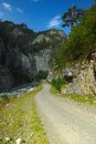 Road in Caucasus Royalty Free Stock Photo