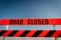 Road Closed Royalty Free Stock Photo