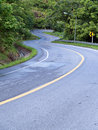 Road curves Royalty Free Stock Photos