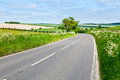Road in england scenic country Stock Photography