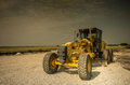 Road grader Royalty Free Stock Photo