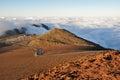 Road at Haleakala National Park, Maui (USA) Royalty Free Stock Photo