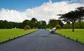 A Road Through Heaven Royalty Free Stock Photo