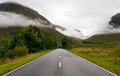 Road in the Highlands of Scotland Royalty Free Stock Photo