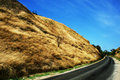 Road in hills Stock Photography
