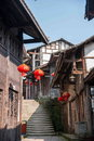 Road hole town one of the top ten most attractive town chongqing song and ming dynasties where it naturally built for peddler some Stock Photos