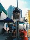 The road in hong kong Stock Photo