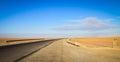 A Road into the horizon, the door to Sahara Desert, Douz, Tunisia