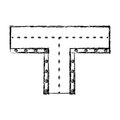 Road intersection isolated icon