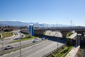 Road junction in sochi russia new modern Stock Images