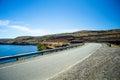 Road and Lake Royalty Free Stock Photo