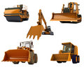 Road machinery Royalty Free Stock Images