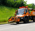 Road maintenance Royalty Free Stock Photography