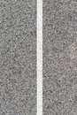 Road markings a close up shot of Stock Images