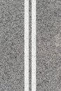 Road markings a close up shot of Royalty Free Stock Images
