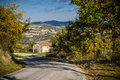 A road in the Montefeltro's hills (Urbino - Italy) Stock Photography