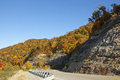 Road through mountains Appalachia Royalty Free Stock Photo