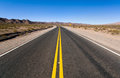 Road in northern argentina an asphalt salta province Royalty Free Stock Photos