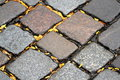 Road paving stones Royalty Free Stock Photos