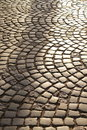 Road paving stones Royalty Free Stock Photography