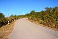 Road on phu rua mountain thailand Stock Image