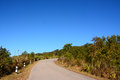 Road on phu rua mountain thailand Stock Photo
