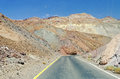 Road among the rocks in Death Valley, California Royalty Free Stock Photo