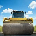 Road roller Royalty Free Stock Image