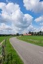Road running thru landscape