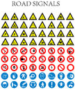 Road signals for all the people Stock Photography