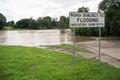 Cesty předmět na záplava