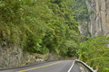 Road in Taroko National Park Stock Images