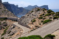 Road to Cap de Formentor in Majorca Stock Photo