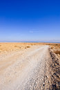 Road to the Dead Sea Stock Photography