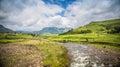 Road to drakensberg inKwazulu Natal Royalty Free Stock Photo